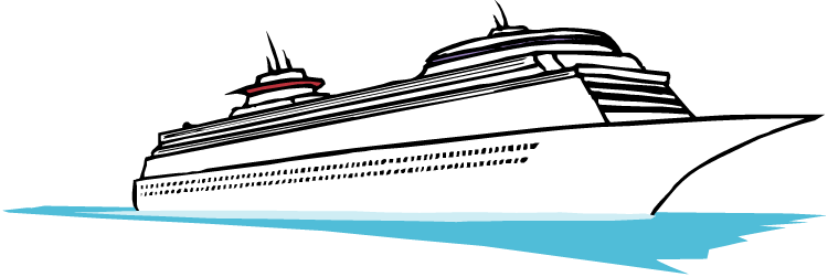 Cruise+ship+clip+art+black+and+white